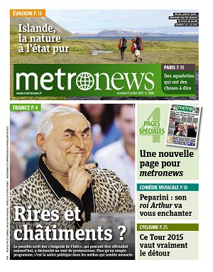 Metro News Paris n°2806 3 jui 2015