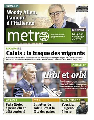 Metro News Paris n°2247 4 jui 2012
