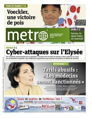 Metro News Paris n°2253 12 jui 2012