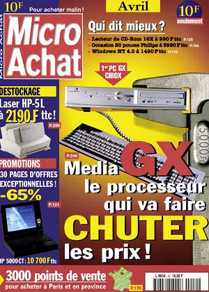 Micro Achat n°10 avril 1997