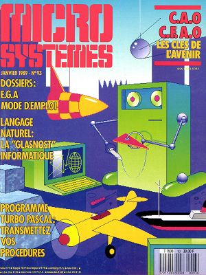 Micro Systèmes n°93 janvier 1989