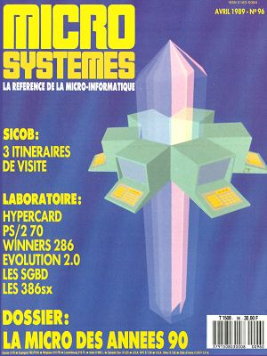 Micro Systèmes n°96 avril 1989