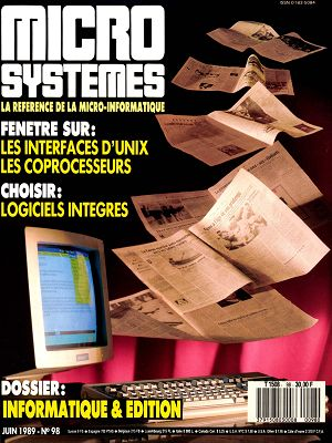 Micro Systèmes n°98 juin 1989