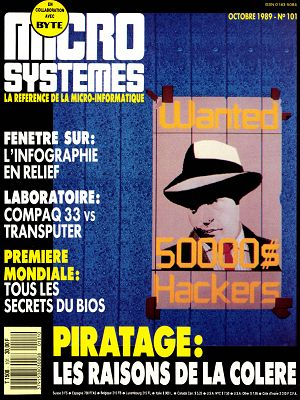 Micro Systèmes n°101 octobre 1989
