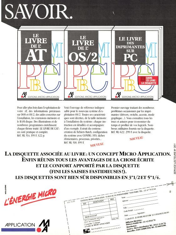 Micro Systmes N90 Octobre 1988 000 EUR
