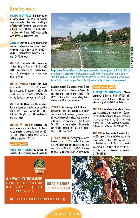 Minizou N59 Juiaoûsep 2019 Page 2 3 Minizou N59