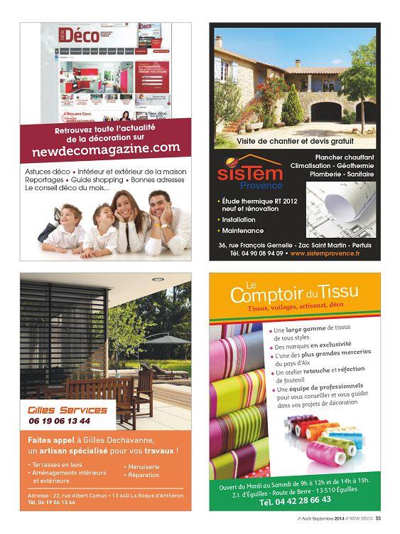 New d co magazine n 20 novembre 2012 page 22 23 new - Magazine deco maison gratuit ...