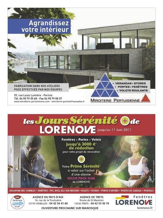 agrandissez votre intérieur Fabrication dans nos ateliers Pose eFFectuée  Par nos équiPes 59, rue Louis Lumière - Pertuis tél. dbddbeb6406b