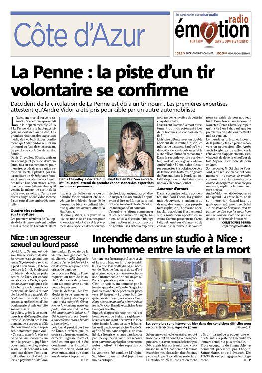 Nice Matin N 2015 01 03 Samedi Page 46 47 Nice Matin N 2015