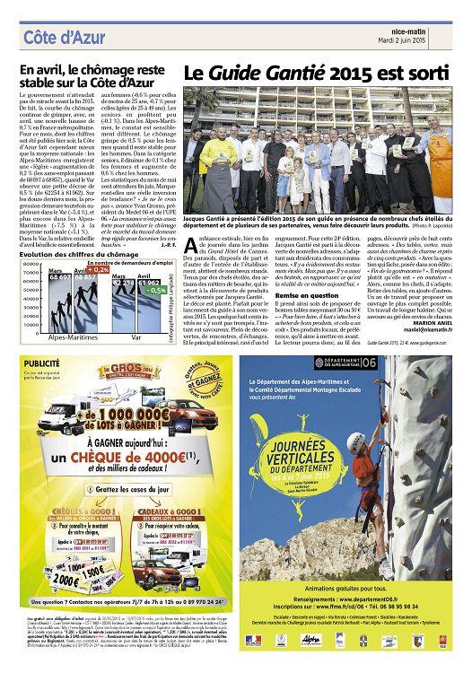 nice-matin n°2015-06-02 mardi - page 22 - 23 - nice-matin n°2015