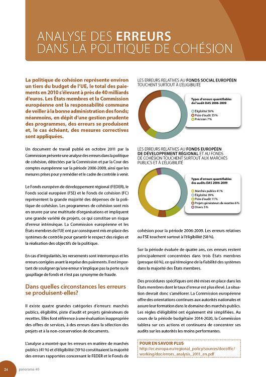 Panorama Inforegio n°40 déc 11/jan-fév 2012 - Page 36