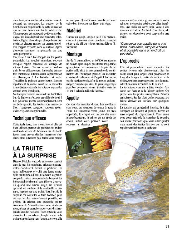 Peche Magazine N 3 Mai Jun Jui 2015 Page 30 31 Peche Magazine