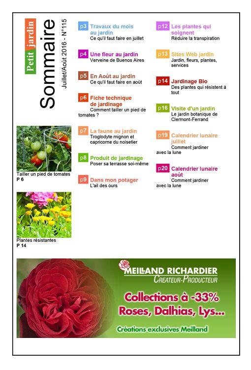 Petit jardin n 117 octobre 2016 page 18 19 petit jardin n 117 octobre 2016 petit jardin - Petit jardin octobre brest ...