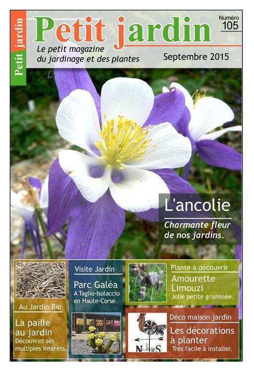 Petit jardin n 105 septembre 2015 page 2 3 petit for Jardin septembre 2015