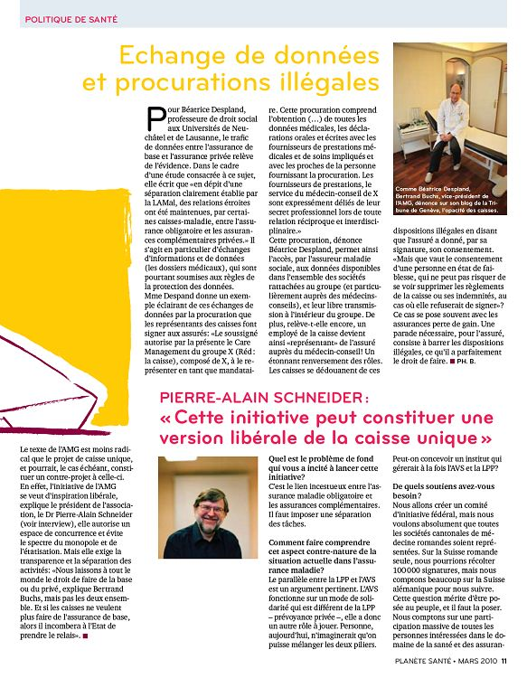 Planete Sante N 6 Mar A Nov 2010 Page 10 11 Planete Sante N 6