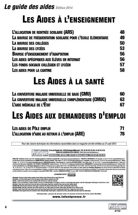 Pratique magazine n°59 oct/nov/déc 2013 - Page 60 - 61