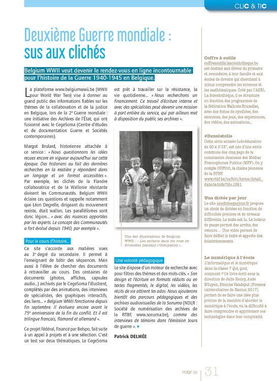 Prof Magazine n°36 déc 17/jan-fév 2018 - Page 2 - 3 - Prof