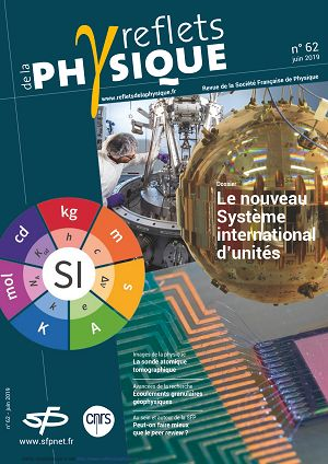 Reflets de la Physique n°62 jun à sep 2019