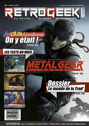Retro Geek Mag n°8 avr/mai/jun 2013