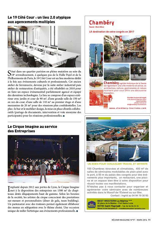 Reunir Magazine N 97 Mar Avr Mai 2016 Page 28 29 Reunir Magazine N 97 Mar Avr Mai 2016 Reunir Magazine Emploi Formation Professionnelle Actualite 1001mags Magazines En Pdf A 1 Et Gratuits