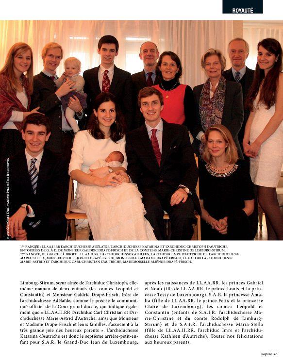 princesse tessy de luxembourg enceinte