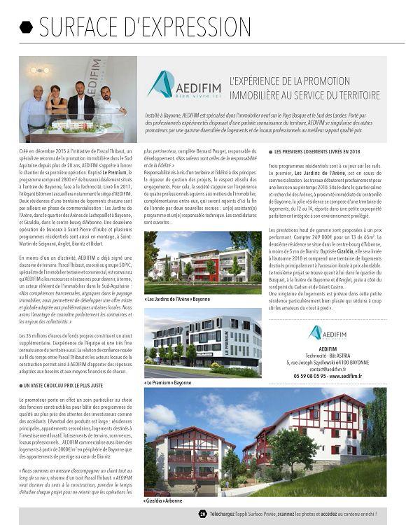 SP Aquitaine n°21 octobre 2016 Page 20 21 SP Aquitaine