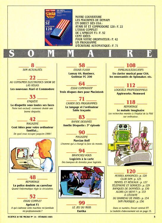 a54df0a3ab192a SVM n°14 février 1985 - Page 16 - 17 - SVM n°14 février 1985 - SVM ...