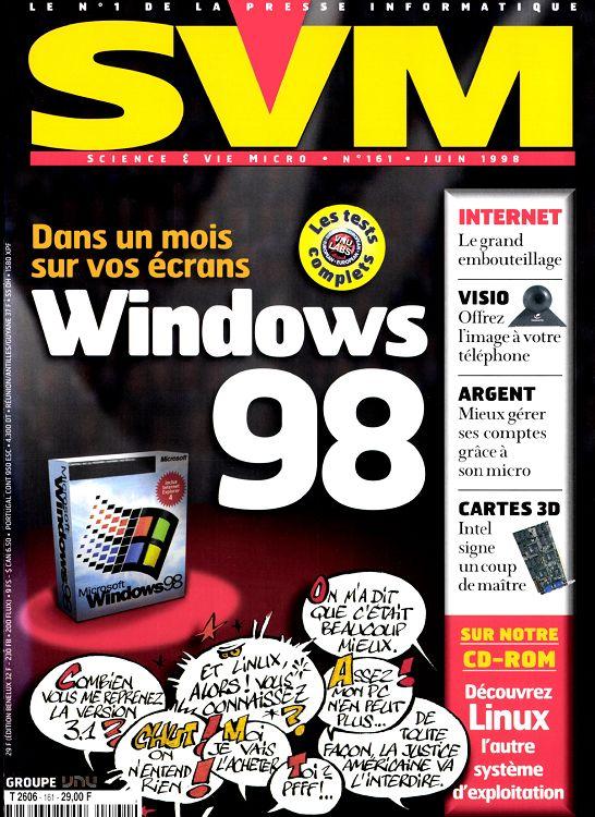 Svm N161 Juin 1998 Page 14 15 Svm N161 Juin 1998 Svm