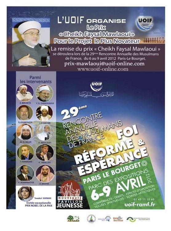 rencontre annuelle des musulmans de france 2012