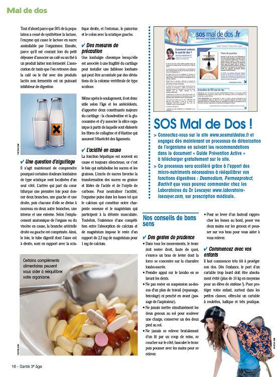foto de Santé 3e Age n°3 mar/avr/mai 2015 - Page 16 - 17 - Santé 3e Age n ...