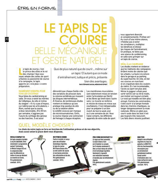Santé Sport Magazine N3 Déc 09jan 2010 Page 30 31 Santé