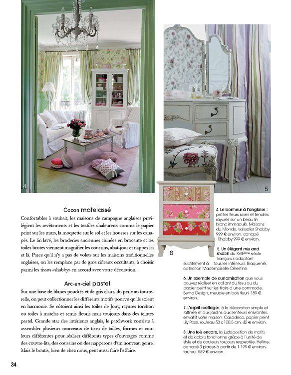 Spécial Déco n°2 jan/fév 2014 - Page 34 - 35 - Spécial Déco n°2 jan ...