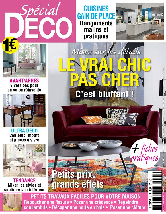 magazine maison et travaux awesome papier peint diamant. Black Bedroom Furniture Sets. Home Design Ideas