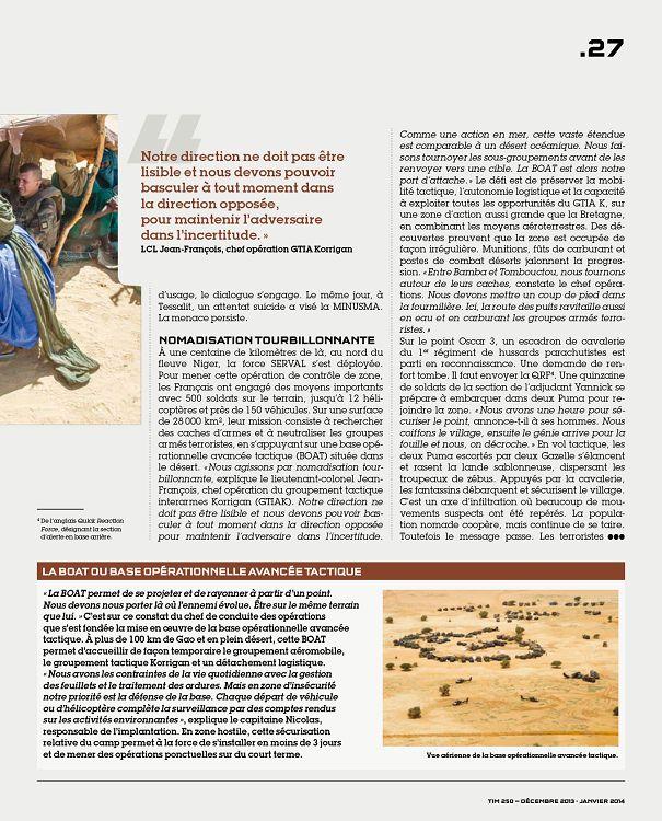 ACTUALITÉS En direct Soldat du DAO de la force SERVAL en tape arrière d un  VAB.lll bataillon malien, et donne ses premiers conseils. 25cfa3000840