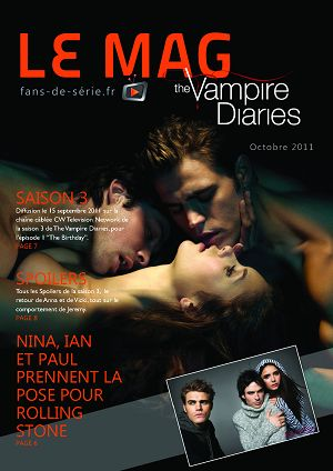 The Vampire Diaries n°1 octobre 2011