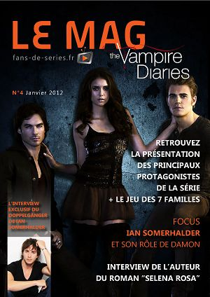The Vampire Diaries n°4 janvier 2012