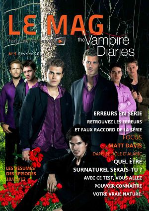 The Vampire Diaries n°5 février 2012