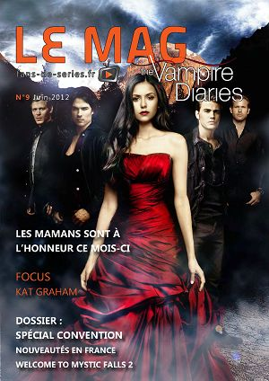 The Vampire Diaries n°9 juin 2012