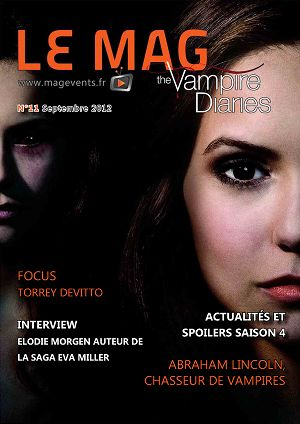 The Vampire Diaries n°11 septembre 2012