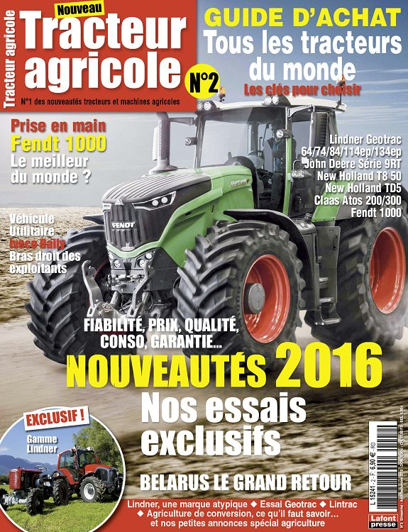 tracteur agricole n 4 jan f v mar 2016 page 2 3 tracteur agricole n 4 jan f v mar 2016. Black Bedroom Furniture Sets. Home Design Ideas