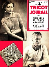 Tricot Journal n°65 1er nov 1937