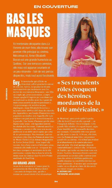 Trois Couleurs n°170 junjui 2019 Page 34 35 Trois