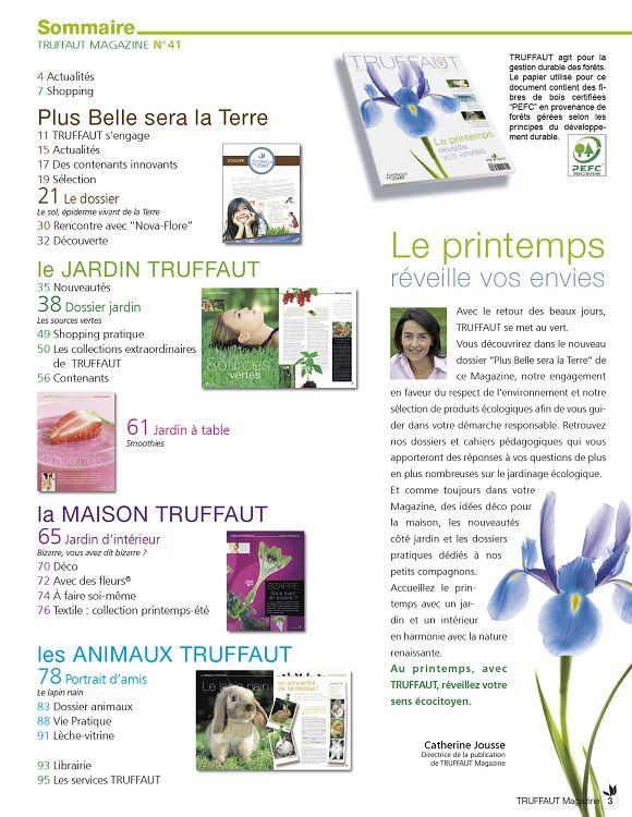 Truffaut Magazine n°41 fév/mar/avr 2009 - Page 2 - 3 - Truffaut ...