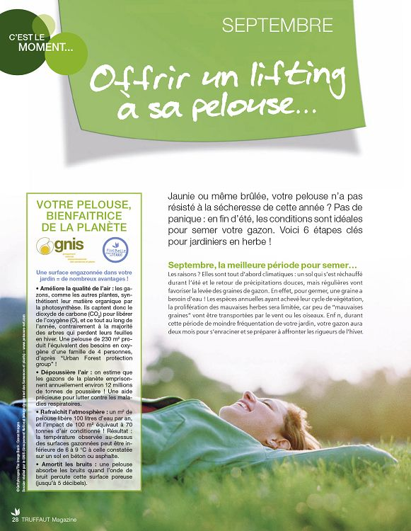 Truffaut Magazine N51 Sepoct 2011 Page 28 29