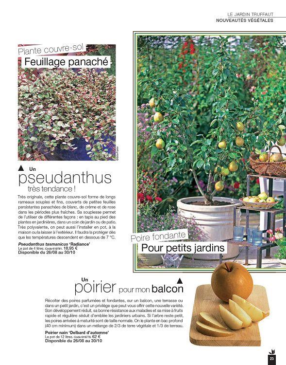 Truffaut Magazine n°71 sep/oct 2016 - Page 22 - 23 - Truffaut ...