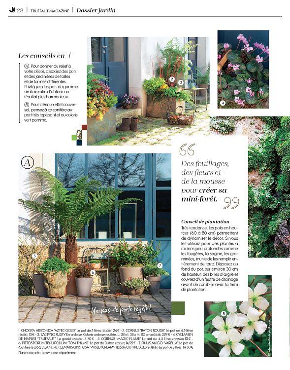 Truffaut Magazine n°78 sep/oct/nov 2018 - Page 10 - 11 ...