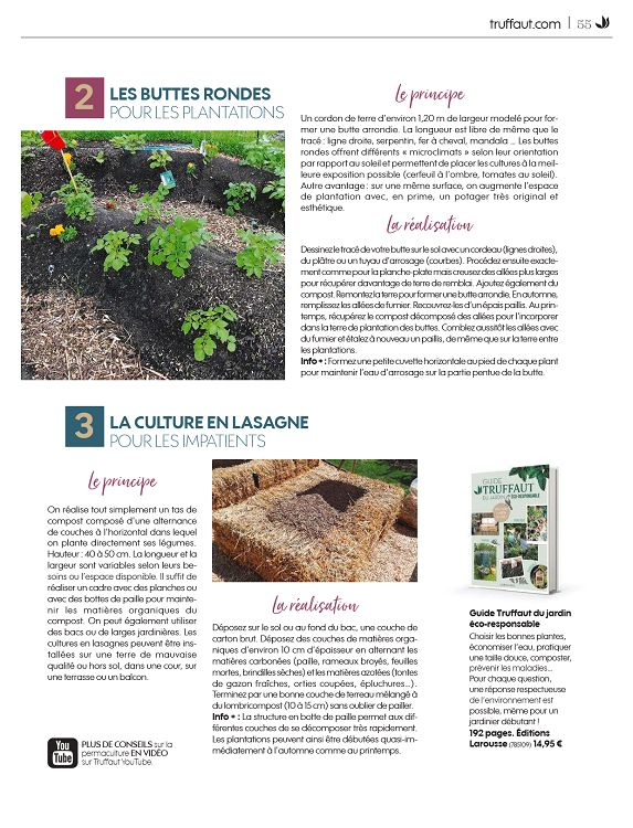 Truffaut Magazine n°81 sep/oct/nov 2019 - Page 54 - 55 ...