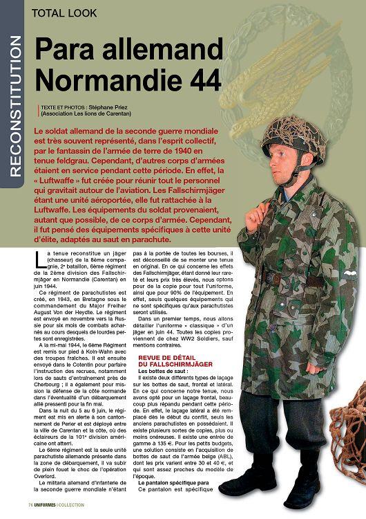 uniforme militaire allemand