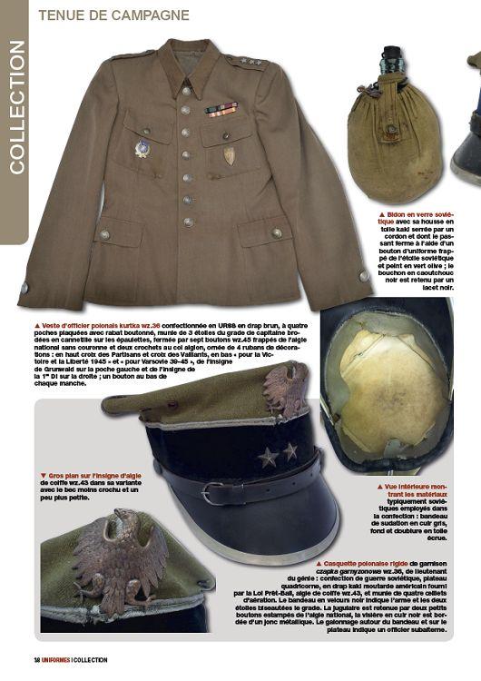 vert uniforme militaire