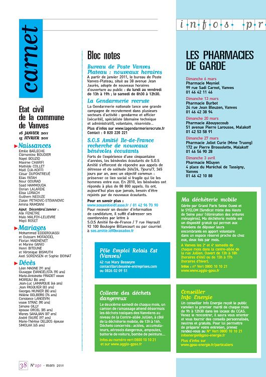 rencontres carnot 2011